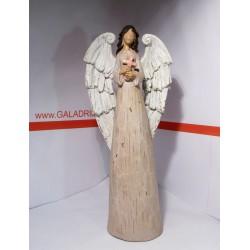 Anděl s křížkem 39 cm