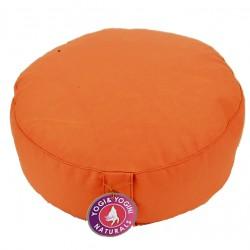 Meditační sedák polštář pohankový 35 x 17 cm lilkový
