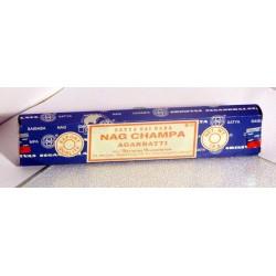 NAG CHAMPA - modré - vonné tyčinky balení 12ks 15gramů