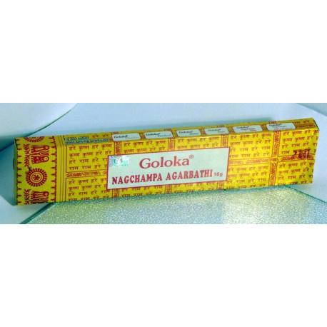 NAG CHAMPA - vonné tyčinky 14ks (žluté)