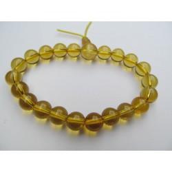 Energetický - Budhův náramek (power bracelet) CITRÍN