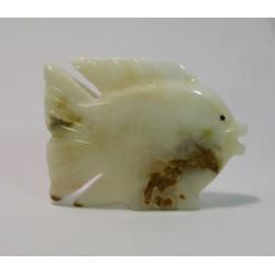 Kamenná figurka soška ONYX ryba 10cm
