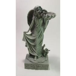 Soška Anděl šedá 33 cm