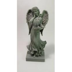 Soška Anděl šedá