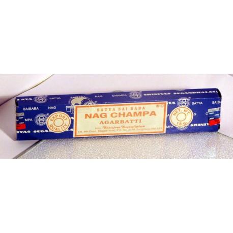 NAG CHAMPA - modré - vonné tyčinky balení 40 gramů