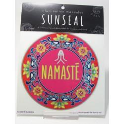 Okenní mandala Namasté