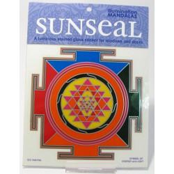 Okenní mandala Šrí Jantra Symbol energie a světla YANTRA