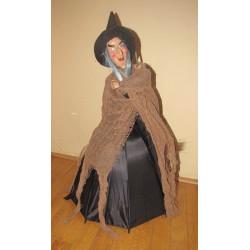 Figurka čarodějnice 70cm funkční