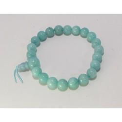 Energetický - Budhův náramek (power bracelet) AMAZONIT