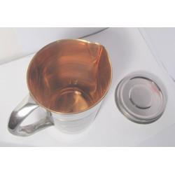 Měděný džbán - nádoba měděná konvice na vodu 1,3 litru