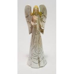 Anděl s holubicí 16 cm