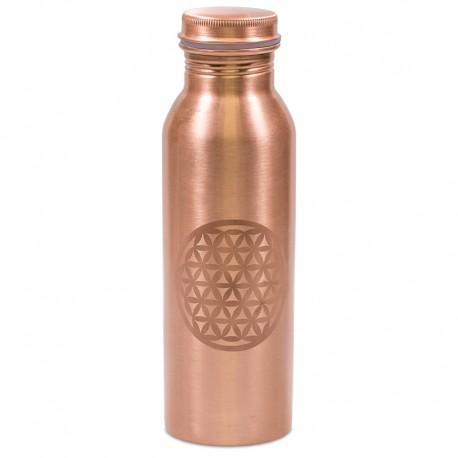 Měděná uzavíratelná lahev na vodu 0,8 litru