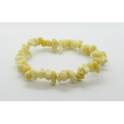 Náramek jadeitový žlutý