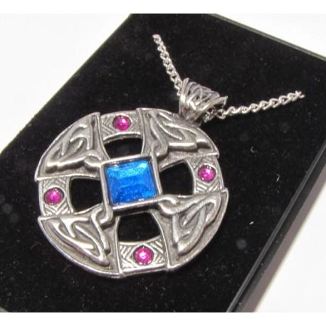 Amulet keltský kříž šperkový