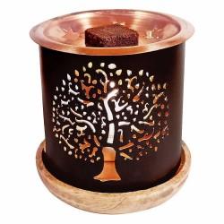 Aromafume odpařovač pro parfémové čtverečky Strom života + vzorek