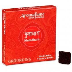 Parfémové čtverečky Aromafume Muladhara