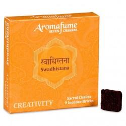 Parfémové čtverečky Aromafume Swadhistana
