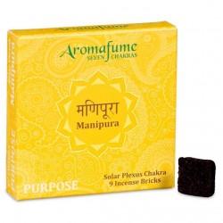 Parfémové čtverečky Aromafume Manipura