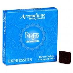 Parfémové čtverečky Aromafume Vishuddhi