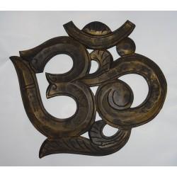 ÓM dekorace nástěnná AUM 40cm