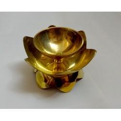 Lampa na ghí / olejová lampa kovová