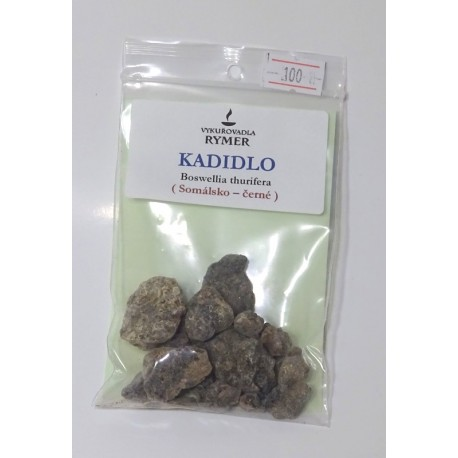 Kadidlo Somálsko černé - Rymer