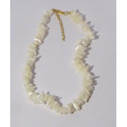 Perleť světlá - náhrdelník