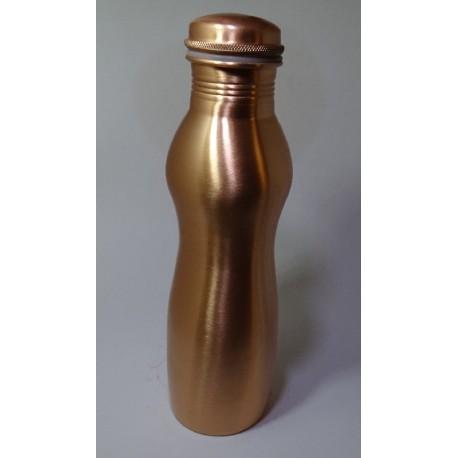 Měděná uzavíratelná lahev na vodu tvarovaná