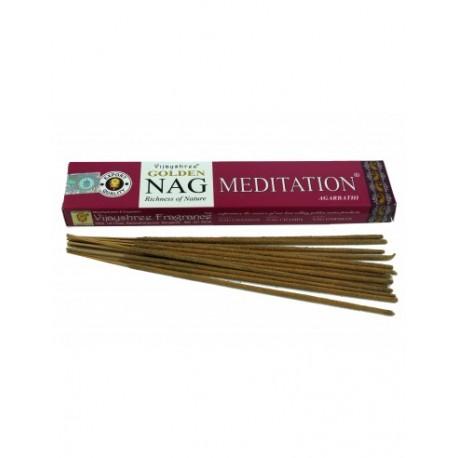 Vonné tyčinky Golden Nag Meditation