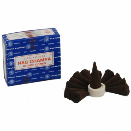 NAG CHAMPA Satya Sai Baba  - modré - vonné kužílky