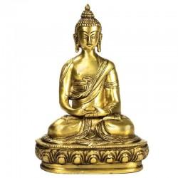 Buddha Amitabha mosazná 20 cm kovová soška