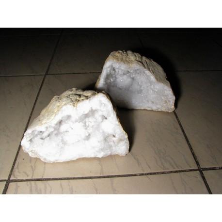 Křišťálová geoda / komplet 3-5 kg