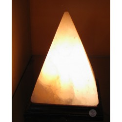 Solná pyramida jehlan lampa elektrická