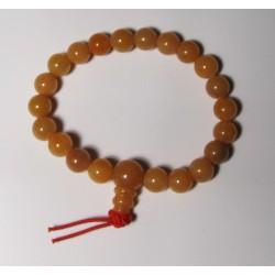 Energetický - Budhův náramek (power bracelet) ORANŽOVÝ AVANTURÍN