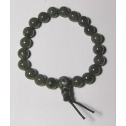 Energetický - Budhův náramek (power bracelet) NEFRIT