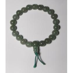 Energetický - Budhův náramek (power bracelet) ZELENÝ AVANTURÍN
