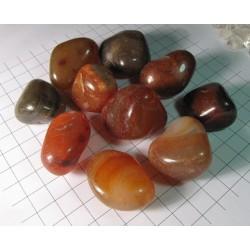 Karneol tromlovaný kámen, troml kamínek 3~4 cm