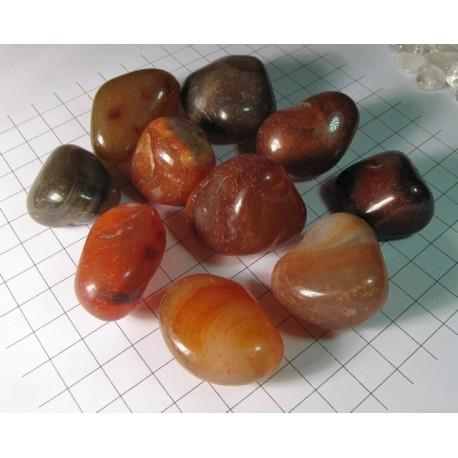 Křišťál tromlovaný kámen, troml kamínek 3~5 cm