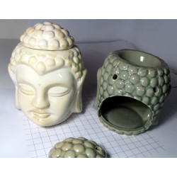 Aroma lampa Budha - nazelenalá barva - aromalampa Buddha