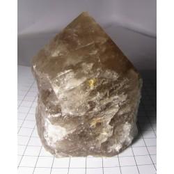 Záhnědy krystal - hrot leštěný