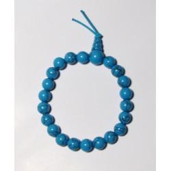 Energetický - Budhův náramek (power bracelet) TYRKYS