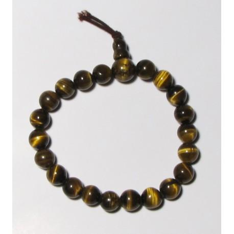 Energetický - Budhův náramek (power bracelet) TYGŘÍ OKO