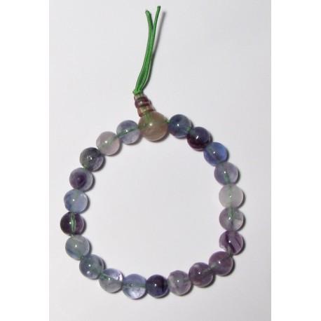 Energetický - Budhův náramek (power bracelet) FLUORIT